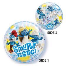 """Smurfs 22"""" Bubble Balloon """"smurftastic"""""""
