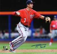 Trea Turner 8x10 SIGNED PHOTO AUTOGRAPHED ( Nationals ) REPRINT