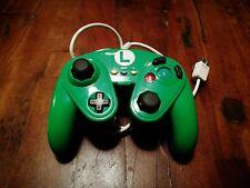 Super Mario Battle Pad Gamecube Controller Nintendo per Wii U Modello Luigi