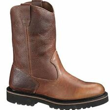 Men's Wolverine Overpass Wellington WP Soft Toe Boot, Size: 11 M, Dark Coffee Leather