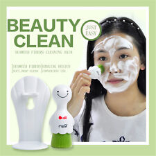 MSQ Deep Clean Facial Washing Brush Skin Care Face Cleanser Soft Brush With Box