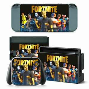 Nintendo Switch Fortnite Skins For Console Controllers New Vinyl Covers Decals !