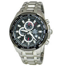 Casio EF539D-1A Edifice 44MM Men's Chronograph Stainless Steel Watch