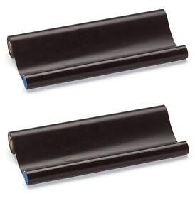 2 Fax Thermo Rollen kompatibel Brother PC 72 RF  PC72RF  T72 T74 T76 T78
