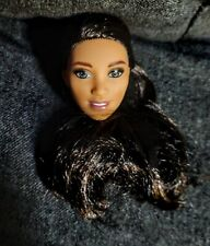 Mattel made to move basketbal Barbie head for Ooak repaint or reroot or both !