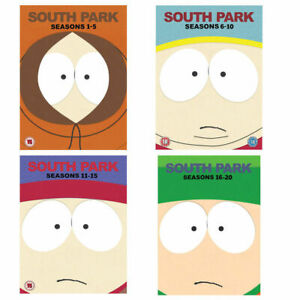 SOUTH PARK - Complete Seasons 1-20 DVD Boxsets REGION 4 New & Sealed