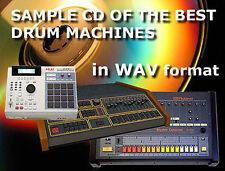 CD de muestra de las máquinas de tambor analógico para ex Linn EMU Akai Roland TR 808 909 EKO