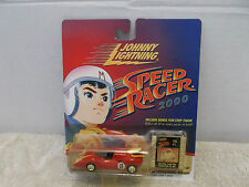 Johnny Lightning Speed Racer Includes Bonus Film Strip Token Cel #1 VHTF MOC '00