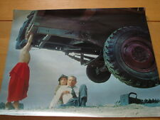 1978 Superman The Movie Poster Flying Glenn Ford Baby Superman Unused DC Comics