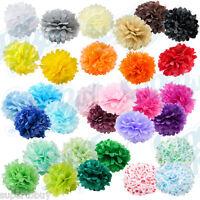 "10 pack Paper Tissue Pom Poms 8"" 10"" 12"" 14"" 16"" Wedding Party Flower pcs"