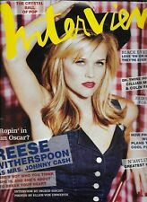 12/2006  issue of INTERVIEW magazine  REESE WITHERSPOON cover
