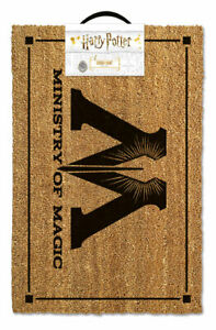 HARRY POTTER (MINISTRY OF MAGIC) DOORMAT *OFFICIALLY LICENSED*