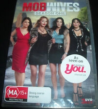 Mob Wives Season One 1 (Australian All Region) DVD - New