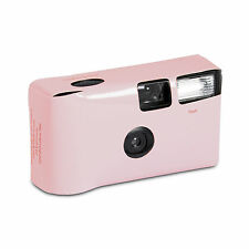 Disposable Cameras with Flash Pale Pink Favour Party 10 Pack