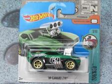 Hot Wheels 2017 # 171/365 1969 CHEVY CAMARO Z28 VERDE Tooned