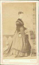 Redruth. Lady by Moody Carte de Visite Photograph  DA.310