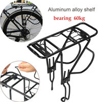 Bicycle Pannier Rack Carrier Bag Luggage Alloy Rear Cycling MTB Kit Max 60KG NEW