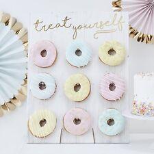 Holz-Aufsteller für Donuts / Donut-Wand für 9 Donuts -Backzubehör & Kuchenbuffet