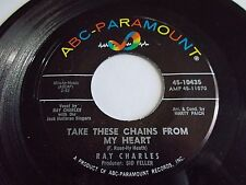 Ray Charles Take These Chains From My Heart / No Letter Today 45 Vinyl Record