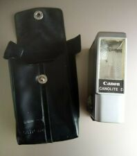 Canon Canonlite D Flash in Case Not Tested