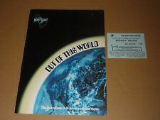 "Moody Blues ""Out Of This World"" 1979 UK Tour Programme + Ticket"