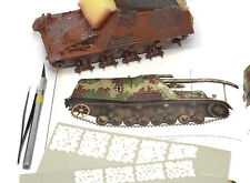 Paint Mask set 1/35 WWII 1946 German Disc Camo (different size roundels)