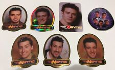 NSYNC Stickers - New Set Of 7