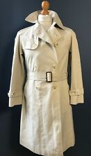 Vintage ladies Aquascutum size 10 belted raincoat trench mac