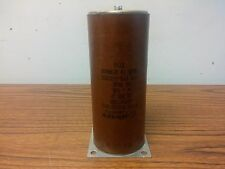 Capacitor Mixed Dielectric .006uF 60000V 60kVDC High Voltage Jensen Capacitors