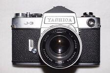 Yashica J-3 SLR w/ Yashinon 5cm f/2 Lens (M42)
