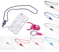 10 pcs Detachable Cell Phone Mobile Neck Lanyard Strap ID Card Key Ring Holder