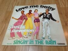 "SHEILA B. DEVOTION LP "" Singin' In The Rain "" CARRERE Canada 1977'"