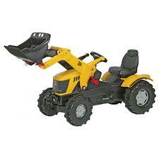 Rolly Toys JCB 8250  Traktor mit Frontlader Trettraktor gelb
