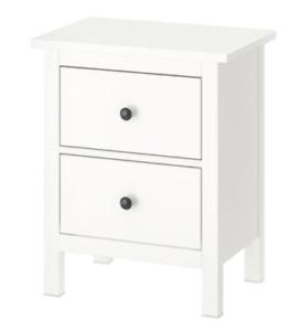 IKEA Hemnes 2-Drawer Chest White Stain 802.426.27 - BRAND NEW IN BOX