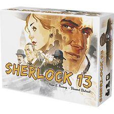 Sherlock 13 - Gioco da tavolo Investigativo Holmes Italiano by Asterion Asmodee