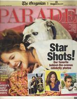 DREW BARRYMORE Parade Magazine 12/2/07 CELINE DION