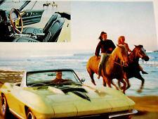 1967 CHEVY CORVETTE ORIGINAL AD-327/396/427 v8 engine/block/intake manifold/head