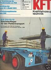DDR IFA KFT 2/1982 Trabant Skoda Dacia Roman VW Santana