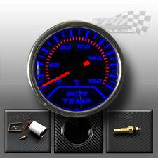 "Water temp gauge 2"" 52mm interior dash smoked dial face kit with sender"