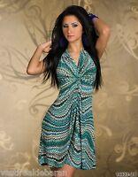 Miniabito Vestito Donna Vestitino Abito F & E  FASHION  AH6051-B613 Tg S e L