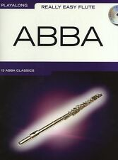 Really Easy Flute Abba Learn to Play Dancing Queen Mamma Mia Music Book & CD