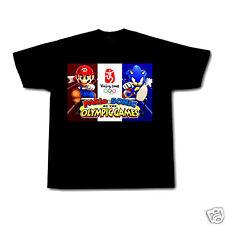 SUPER MARIO AND SONIC OLYMPICS - NINTENDO BROS BROTHERS Fab Kids T Shirt!!