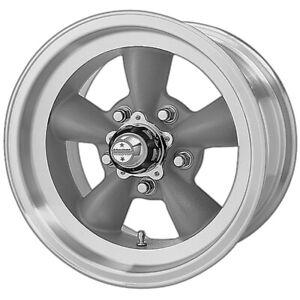 """American Racing VN105 Torq Thrust D 15x7 5x4.5"""" -6mm Gray Wheel Rim 15"""" Inch"""