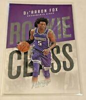 2017-18 Prestige Basketball Rookie Class - De'Aaron Fox RC - Sacramento Kings
