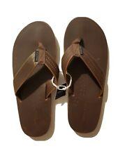 New American Eagle Brown Flip Flops Sandals Men's - Size 11 NWT
