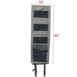 Door organizer panel gun safe pistol kit