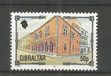 GIBRALTAR 1993 ARCHITECTURE HERITAGE 50p HIGH VALUE SG,705 U/MM N/H LOT 4519A