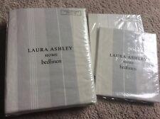 BNIP New Laura Ashley 100% Cotton Super King Duvet Cover Set - Sophie Dove Grey
