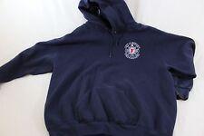 L Lee hooded sweatshirt Meriden FD International Assn. of Firefighters