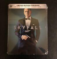 Skyfall 4K Ultra HD + Blu-ray + Digital HD Best Buy Steelbook